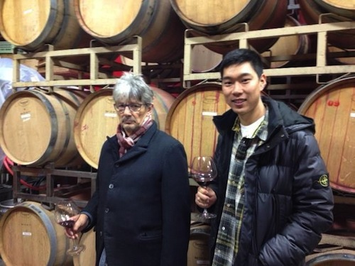 Will Camarda, right, will join his father, Chris, left, at Andrew Will Winery on Washington's Vashon Island. The winery is one of the state's oldest and most-respected producers. (Photo courtesy of Andrew Will)