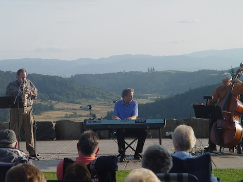 Youngberg Hill in Oregon's McMinnville AVA offers concerts and weddings.