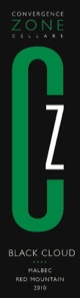 convergence-zone-cellars-black-cloud-malbec-label