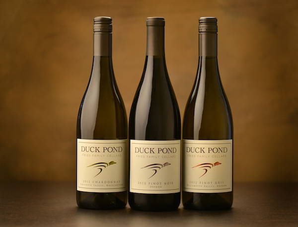 Duck Pond Cellars in Dundee, Ore., will unveil its new logo during Thanksgiving weekend. (Photo courtesy of Duck Pond Cellars)
