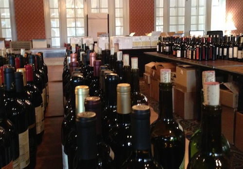 The Columbia Gorge Hotel played host to the Great Northwest Wine Competition.