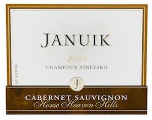 januik-champoux-cabernet-sauvignon-2009-label