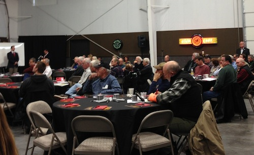 A Red Mountain land auction took place Saturday at Musser Bros. in Pasco, Washington.