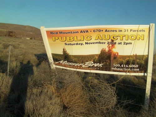 Red Mountain auction will take place.