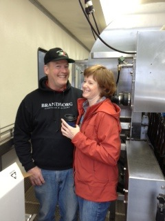 Terry and Sue Brandborg met in Wyoming before moving to Oregon and opening their winery in the Umpqua Valley.