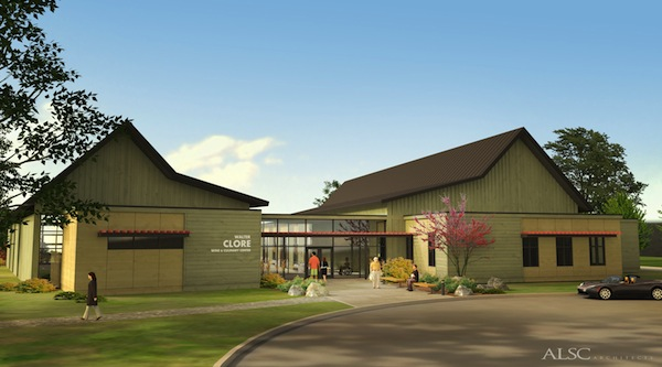 The Walter Clore Wine & Culinary Center in Prosser, Wash., continues to look more like the artist's rendering of the final product. Construction is expected to be complete in December, and the tasting room for Washington wines will be open in spring 2014.