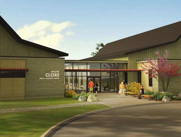 The Walter Clore Wine and Culinary Center will open this spring.