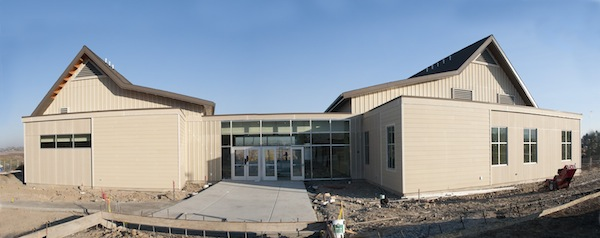 The Walter Clore Wine & Culinary Center continues to take shape in Prosser, Wash. Construction is expected to be complete in December, and the tasting room for Washington wines will be open in spring 2014.