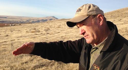 Yakima Valley grape grower Dick Boushey will plant and manage a new vineyard on Red Mountain for Duckhorn Vineyards.