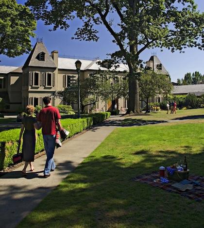 Chateau Ste Michelle in Woodinville, WA