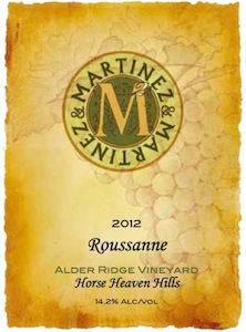 martinez-martinez-alder-ridge-vineyard-roussane-2012-label