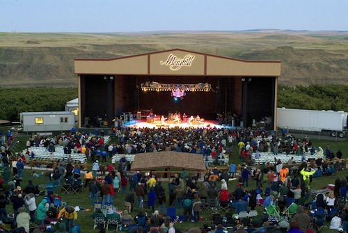 Maryhill Winery in Goldendale, Washington, is home to concerts.