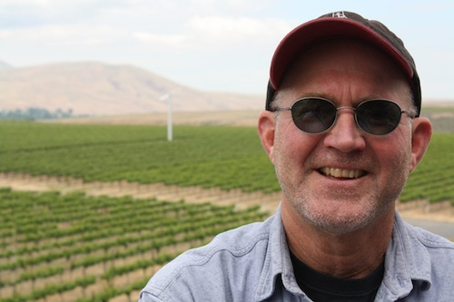Scott Williams is the head winemaker at Kiona Vineyards and Winery on Red Mountain in Washington state.