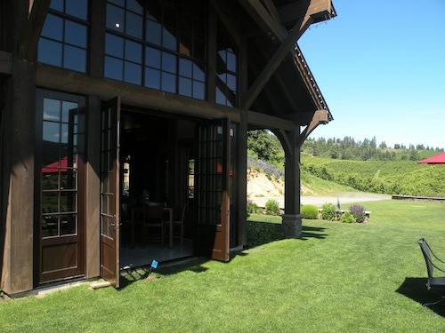 Silvara Vineyards in Leavenworth, Wash., opened in 2008. It was designed by Montana architect Jerry Locati.