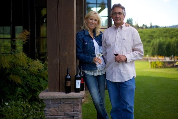 Cindy Rarick and Gary Seidler own and operate Silvara Vineyards in Leavenworth, Wash.