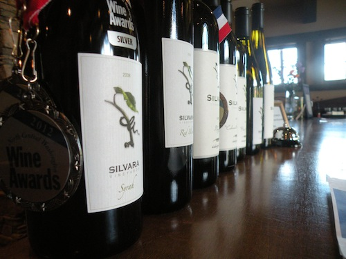 Silvara Vineyards wines are made the tutelage of Red Mountain vintner Charlie Hoppes.