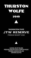 Thurston Wolfe 2010 JTW Reserve