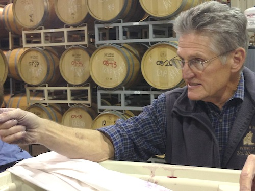 Wade Wolfe is owner and winemaker at Thurston Wolfe in Prosser, Washington.