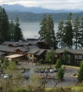 Alderbrook Resort and Spa in Union, Wash., looks out upon Hood Canal with the Olympic Mountains in the distance. The property celebrated its centennial anniversary in 2013.