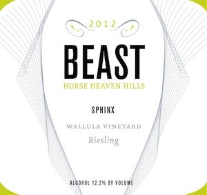 beast-wallula-vineyard-sphinx-riesling-2012-label