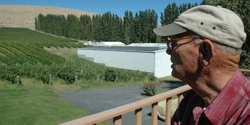 Badger Mountain Vineyard uses certified organic grapes and solar arrays to make wine in Kennewick, Washington.