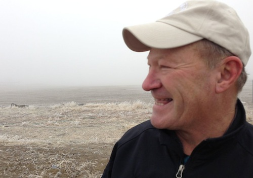 Dick Boushey, a wine grape grower, will manage the vineyard for Hamilton Cellars on Red Mountain.