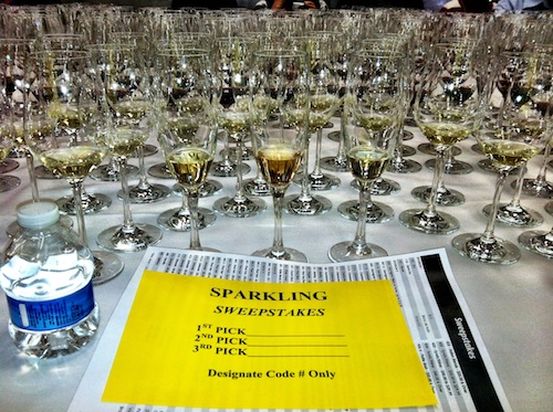 The San Francisco Chronicle Wine Competition is held in Cloverdale, California, in Sonoma County.