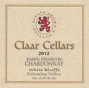 claar-cellars-white-bluffs-barrel-fermented-chardonnay-2012-label