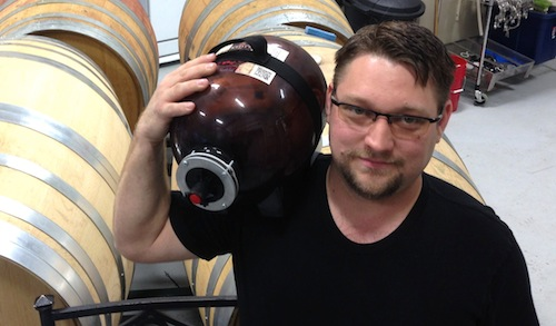 Daniel Washam is owner of Sun River Vintners and D's Wicked Cider in Kennewick, Washington.