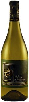 oak-knoll-winery-2011-winemaker's-select-unoaked-chardonnay-bottle
