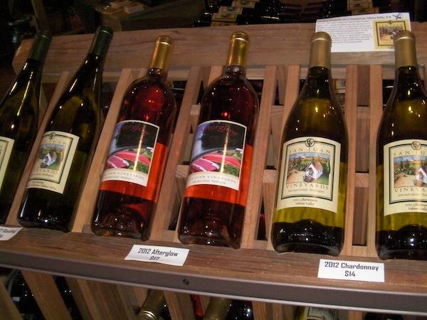San Juan Vineyards' Afterglow rose is a blend of varieties and is a fan-favorite.
