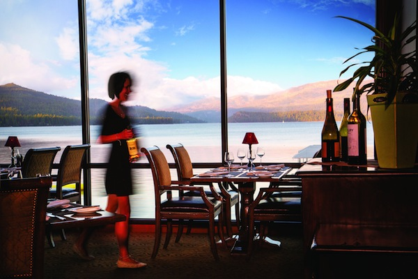 The Narrows Dining Room at Shore Lodge in McCall, Idaho, plays host to several Northwest winemaker dinners each year.