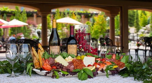 Sorrento's Ristorante is the on-site restaurant at Tsillan Cellars in Washington state.