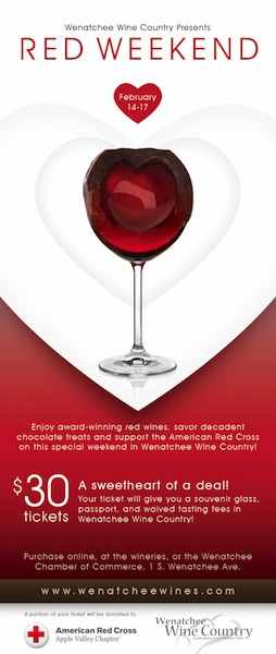 Wenatchee Wine Country Red Weekend for Red Cross - Great Northwest ...