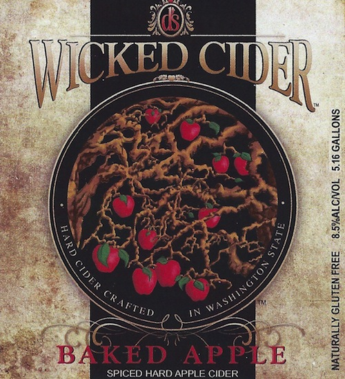 D's Wicked Cider Baked Apple is made using Washington apples in Kennewick.