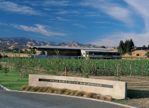 Villa Maria has a winemaking facility in Marlborough.
