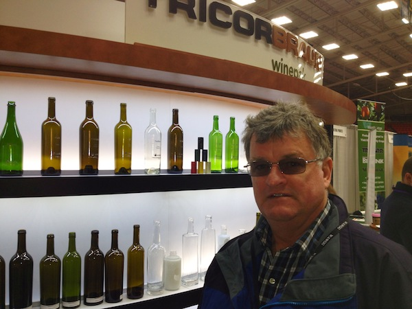 Bill Eggert, owner/winemaker of the award-winning Fairview Cellars in Oliver, British Columbia, is a regular visitor to the Washington Association of Wine Grape Growers annual convention in Kennewick.
