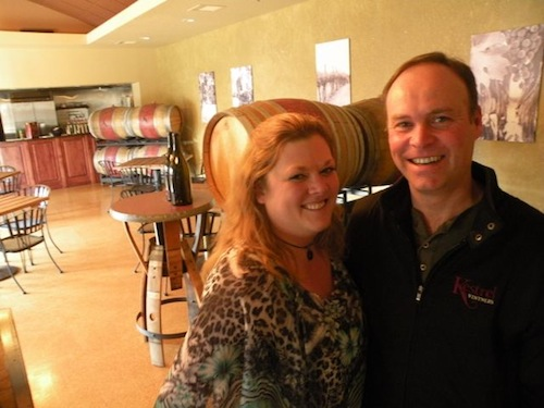 Chef Jessica Smith and winemaker Flint Nelson are at Kestrel Vintners in Prosser, Washington.