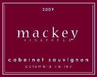 Mackey Vineyards 2009 Cabernet Sauvignon white label
