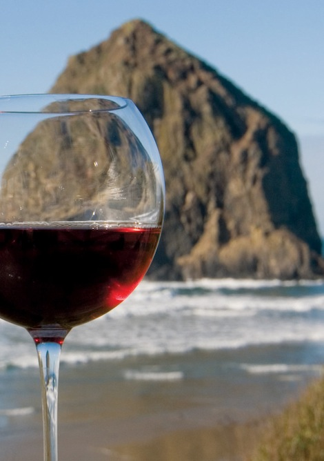 savor cannon beach haystack rock wine glass - Reustle wins 6 gold medals at SavorNW Wine Awards