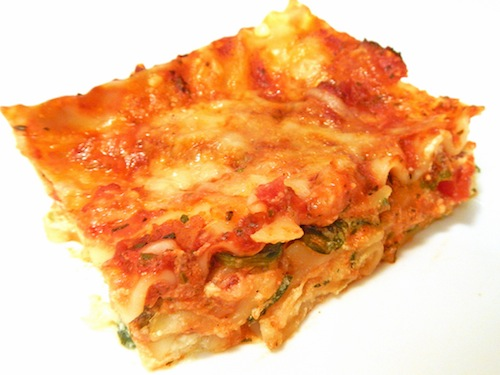Quick lasagna recipe