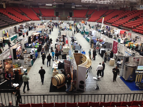 The Washington Association of Wine Grape Growers trade show opens Wednesday, Feb. 5, 2014, at Toyota Center in Kennewick.