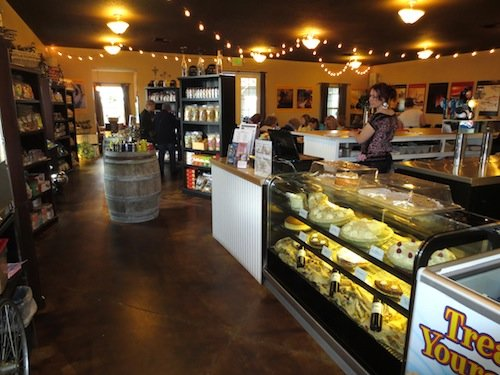 Westport Winery has expanded its tasting room and begun to sell fresh produce near Aberdeen, Washington.