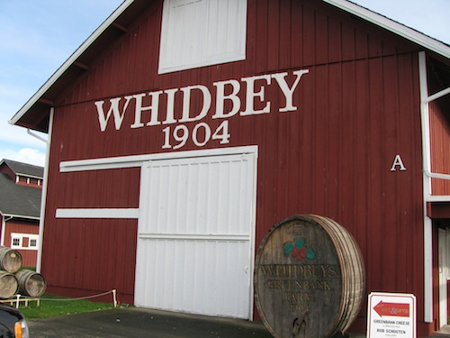 Greenbank Farm on Whidbey Island in Washington state is the origin for the name of Whidbey's Port, a dessert wine made by Ste. Michelle Wine Estates.