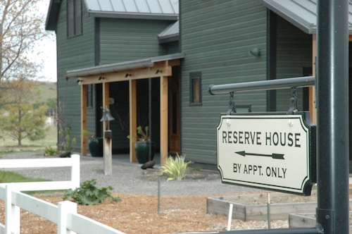 Woodward Canyon Winery's restaurant is in the Reserve House in Lowden, Washington.