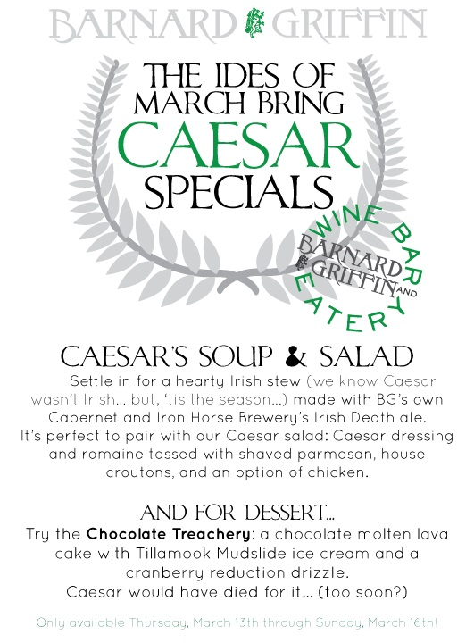 BG CC Photo WB&E Caesar Salad Ides of March