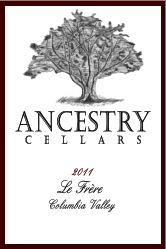 ancestry-cellars-le-frere-2011-label