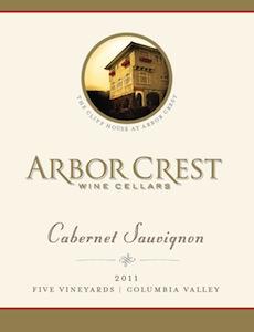 arbor-crest-wine-cellars-five-vineyards-cabernet-sauvignon-2011-label