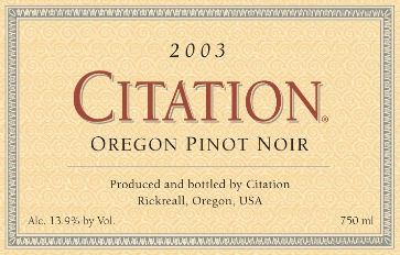 citation-pinot-noir-oregon-2003-label