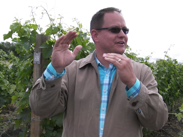 Corey Braunel of Dusted Valley Vintners describes the estate Stoney Vine Vineyard, which they purchased in 2009 and now is within the proposed The Rocks District of Milton-Freewater, Ore.